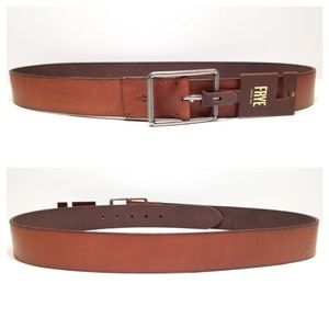 Frye - burnished leather belt